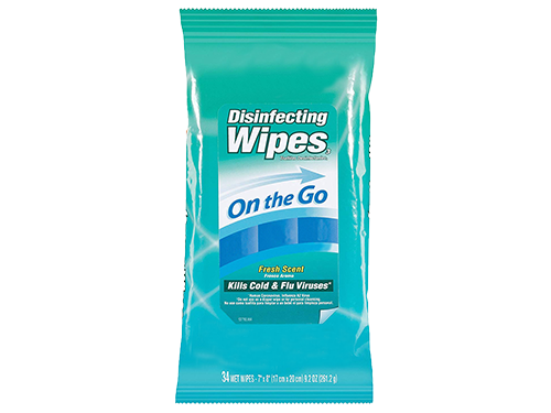 Chemical Disinfecting Wipes 500x375